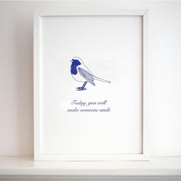 Plakat Karin Åkesson Design Smile, 30x40 cm