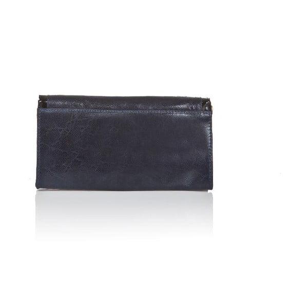 Skórzana torebka Snap Blue