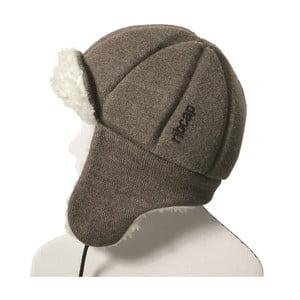 Brązowa dziecięca czapka ochronna Ribcap Bieber, L