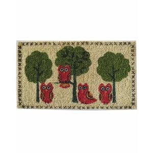 Wycieraczka Owls and Trees, 73x43 cm