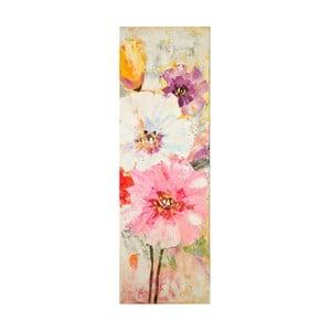 Obraz ręcznie malowany Mauro Ferretti Bouquet, 40x120cm