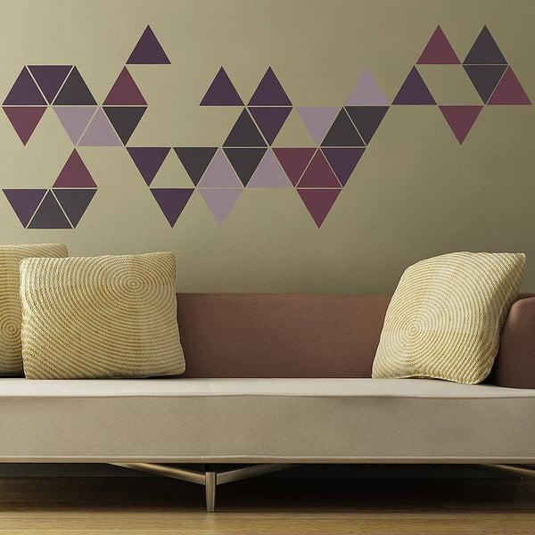 Naklejka ścienna Triangle, 70x50 cm