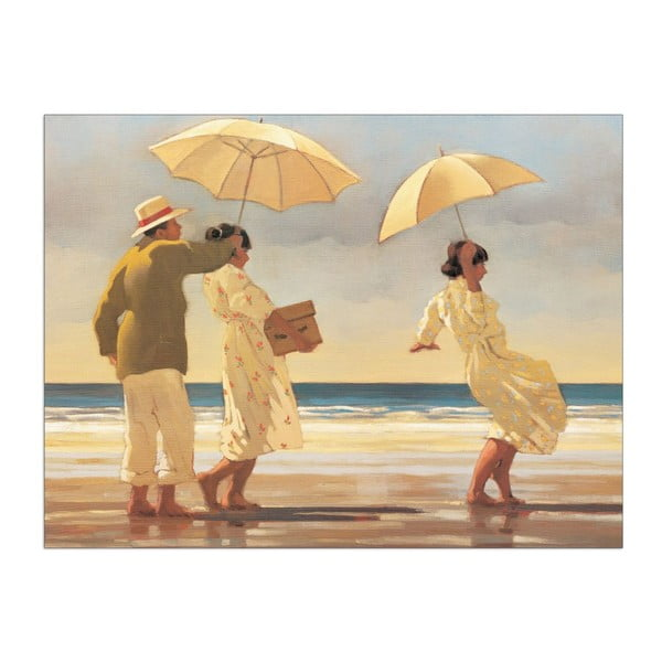 Obraz Jack Vettriano - The Picnic party, 80x60 cm
