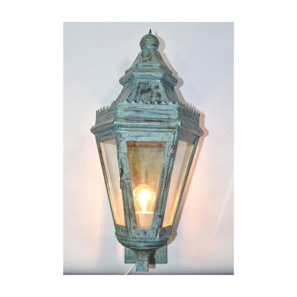 Lampion ścienny India, jasnoniebieski