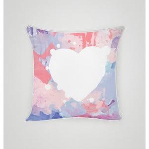 Poszewka na poduszkę Pastel Heart I, 45x45 cm
