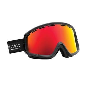 Gogle narciarskie Electric EGB2 Black Bronze Red z powłoką przeciwmgielną