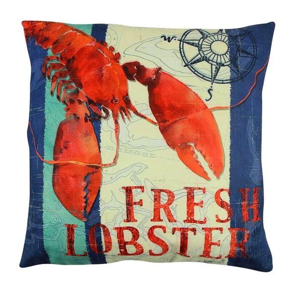 Poduszka z wypełnieniem Fresh Lobster, 43x43 cm