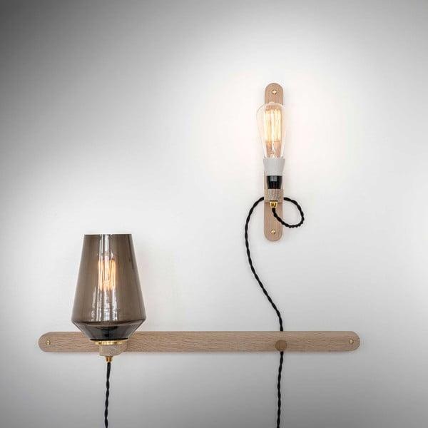 Lampa ścienna i wieszak w jednym Stick Large