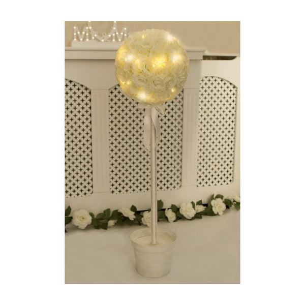 Dekoracja ślubna z lampką LED Pearl