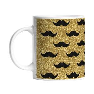 Kubek Black Shake Set of Moustaches, 330 ml