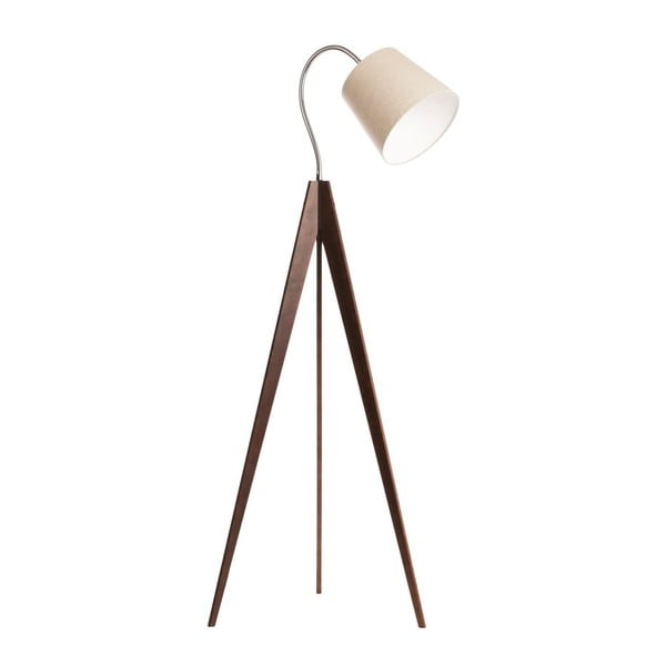 Lampa stojąca Artist Flex Beige/Dark Brown