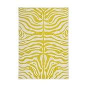 Żółty dywan Kayoom Fusion 830, 200x290 cm