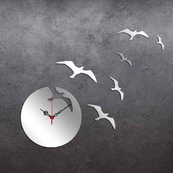 Zegar i lustro dekoracyjne Birds Moon