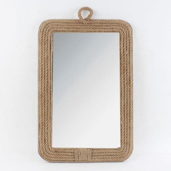 Drewniane lustro, 40x3x60 cm