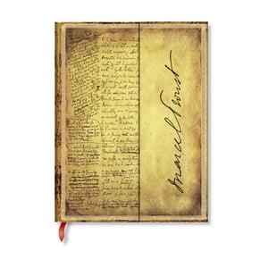Notes w twardej oprawie Paperblanks Proust, 18x23cm
