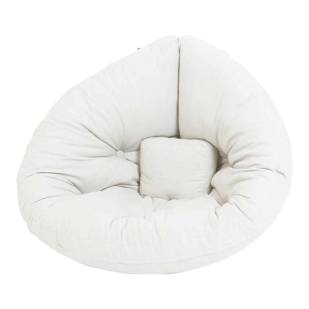 Rozkładany fotel dziecięcy Karup Design Mini Nido Natural