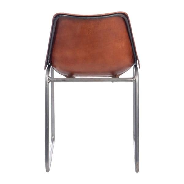 Krzesło Leather Camel, 44x49x78 cm