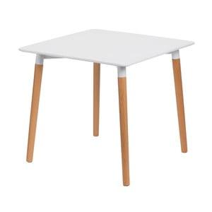 Stół D2 Copine, 80x80 cm, biały