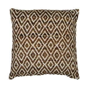 Beżowa poduszka dekoracyjna ZicZac Diamond, 45x45 cm