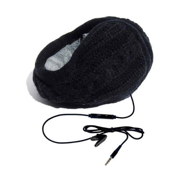 Nauszniki ze słuchawkami Hi-Ear Treccia Nero
