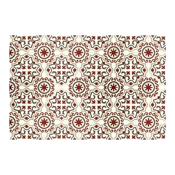 Winylowy dywan Mosaico Trebol Rojo, 120x170 cm