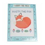 Zestaw do wyszywania krzyżykowego Rex London Rusty The Fox