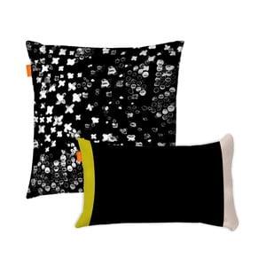 Zestaw 2 bawełnianych poszewek na poduszki Blanc Starlight, 50x50cm