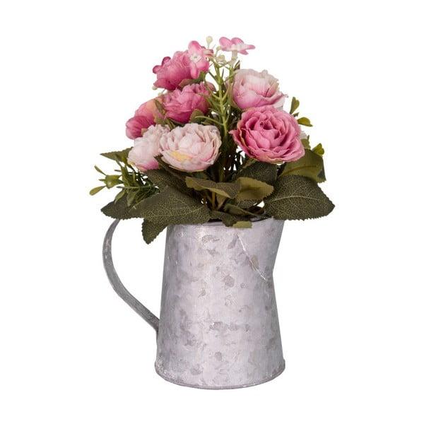 Wazon ze sztucznymi kwiatami Antic Line