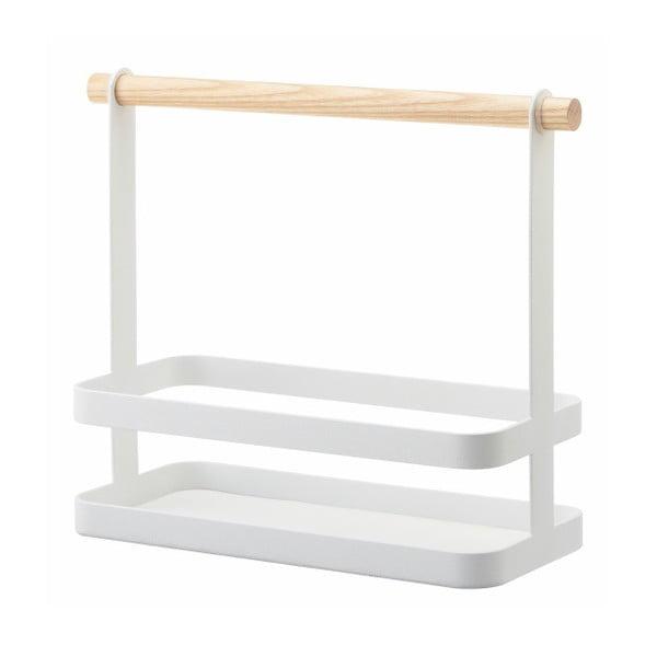 Biały stojak na przyprawy YAMAZAKI Tosca