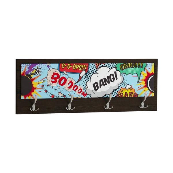 Wieszak Boom Bang, czarny