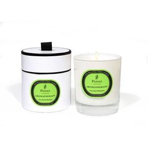 Świeczka Aromatherapy Candles, Lime Basil Mandarin, 45 godzin palenia