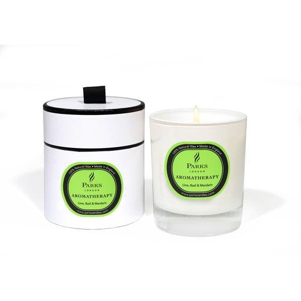 Świeczka o zapachu limonki, bazylii i mandarynki Parks Candles London