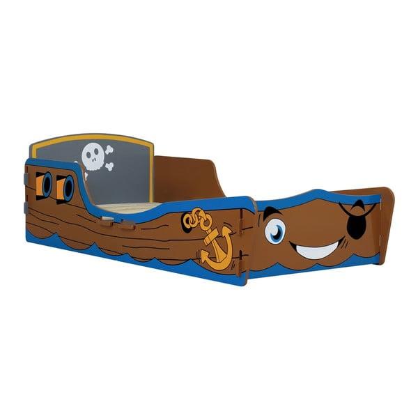 Dziecięce łóżko Pirate Junior, 147x78x53 cm