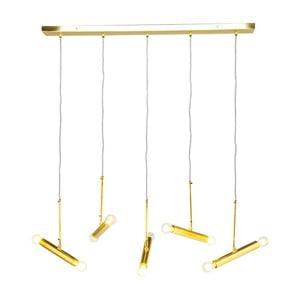 Lampa sufitowa w złotej barwie Kare Design Cluster Cinque
