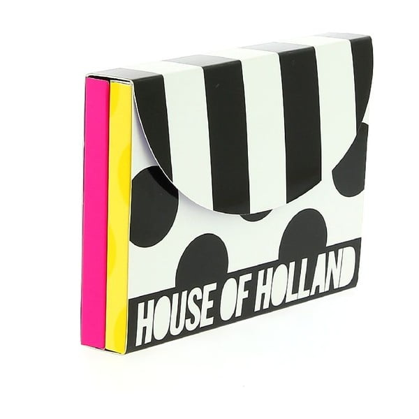 Zestaw   pocztówek i kopert Blueprint Collections House Of Holland