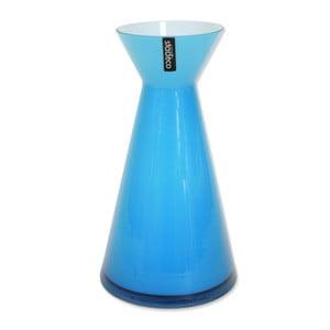 Szklany wazon Istra, niebieski