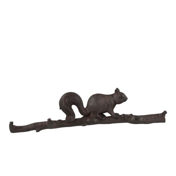 Wieszak J-Line z wiewiórką