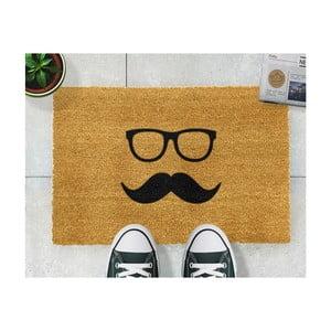Wycieraczka Artsy Doormats Mustache & Glasses, 40x60 cm