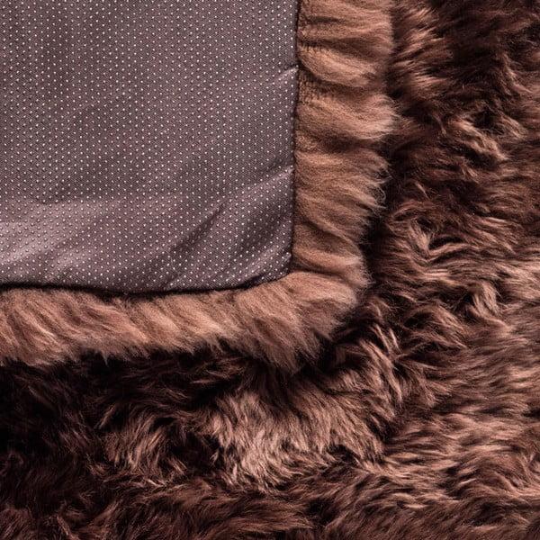 Brązowy dywan Royal Dream Zealand, 70 x 140 cm