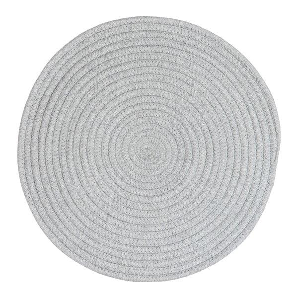 Podkładka Round Grey Cotton, 38 cm