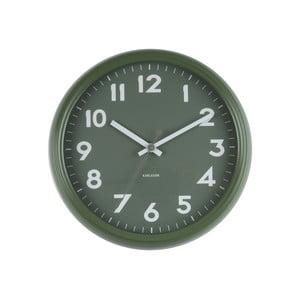 Zielony zegar Present Time Badge