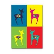 Plakat Sarenki Warhola, średni
