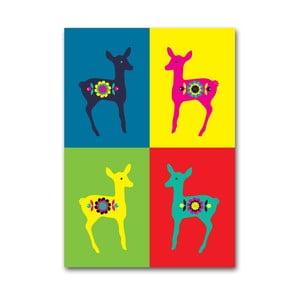 Plakat Sarenki Warhola, mały