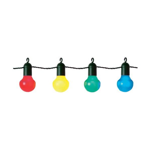 Kolorowa girlanda świetlna LED Best Season Party, 20 lampek