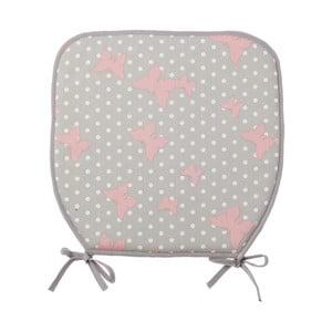 Poduszka na krzesło Pink Butterfly