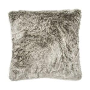Poduszka Faux Fur Silver, 45x45 cm
