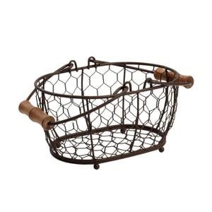Koszyk metalowy T&G Woodware Provence,20x14cm