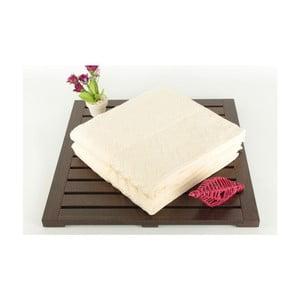 Zestaw 2 ręczników Kalp Cream, 50x90 cm