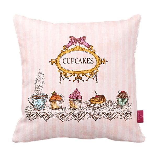 Poduszka Royal Cupcakes, 43x43 cm
