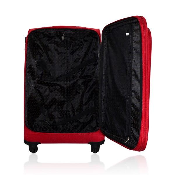 Komplet 3 walizek Valises Avec Poly Red